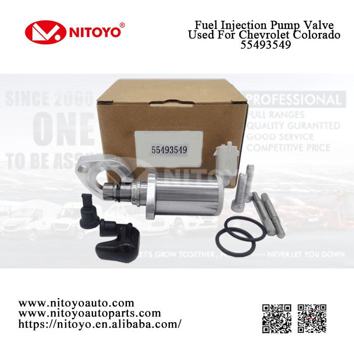 fuel injection pump valve 55493549