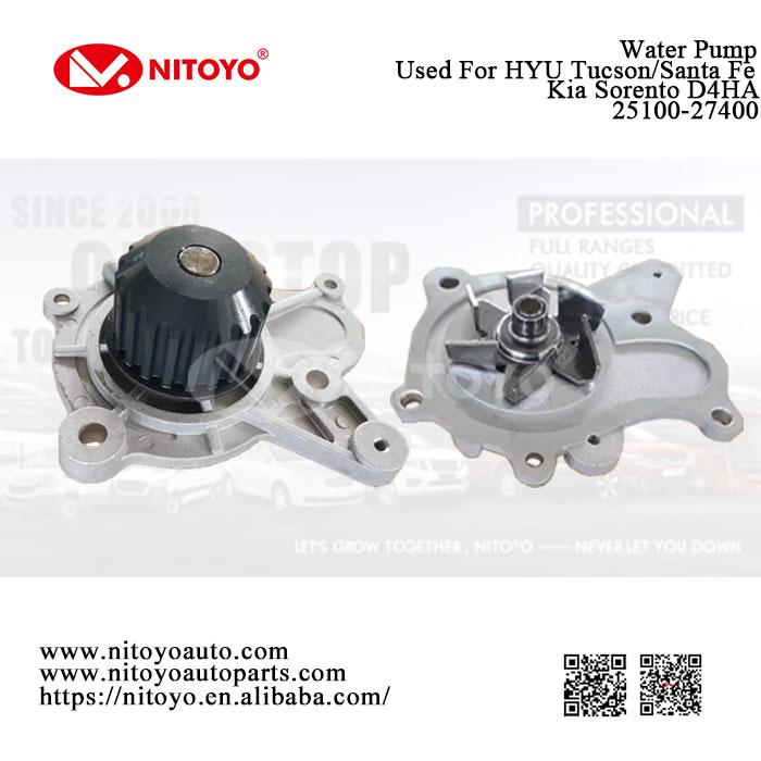 water pump 25100-27400
